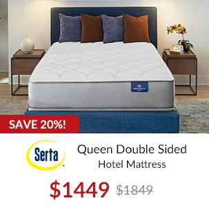 Stearns and Foster Queen Hurston Luxury Plush Sale