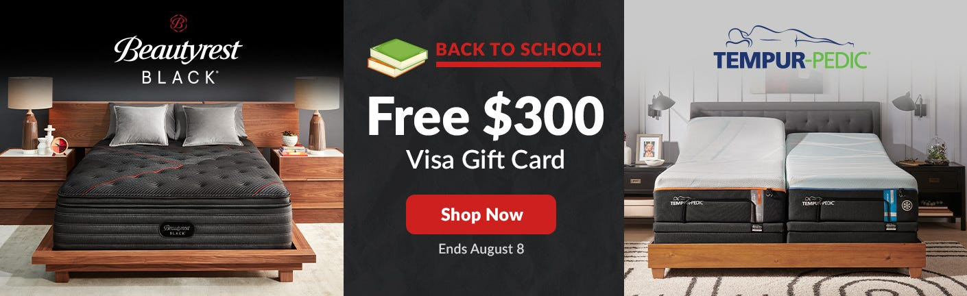 Beautyrest Black and Tempur-Pedic Memorial Day Sale