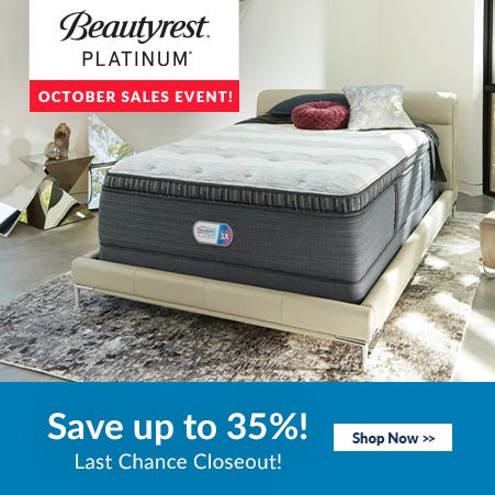 Simmons Beautyrest Platinum Black Friday Sale